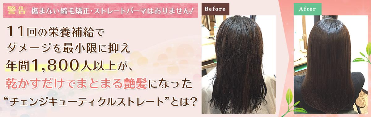 """11回の栄養補給でダメージを最小限に抑え、年間1800人が、乾かすだけでまとまる艶髪になった""""艶髪ヘアケアプログラムストレート""""とは?"""