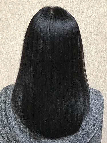 髪がサラサラになって、朝の時間が楽に♪