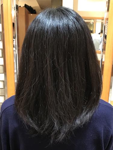 20年悩んだ髪を解消し、気分も上昇♪
