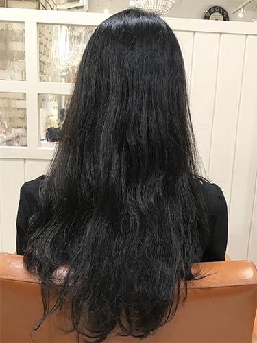 髪がきれいになって、大切な人から褒められました♪